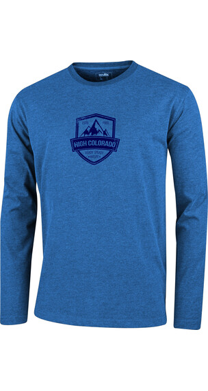 High Colorado Wallis 2 HC-M - Camiseta de manga larga Hombre - azul